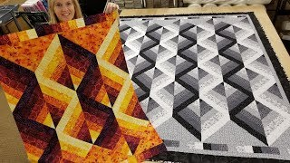 """""""Mirror, Mirror"""" On the Wall... THIS Is My Favorite FREE QUILT PATTERN Of All!!!"""
