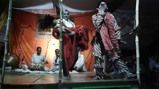भाग--7 जौनपुर की मशहूर नौटंकी  नाच !फुल रोमांस नाट्य संगीत कला पार्टी  (विश्वनाथ नौटंकी खुटहन जौनपुर
