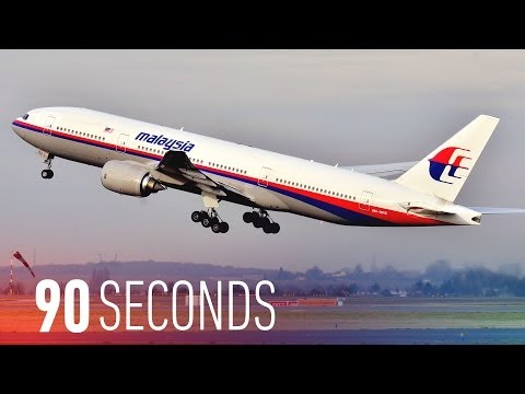 Malaysia Airlines Flight 370 reportedly crashed in the Indian Ocean: 90 Seconds on The Verge