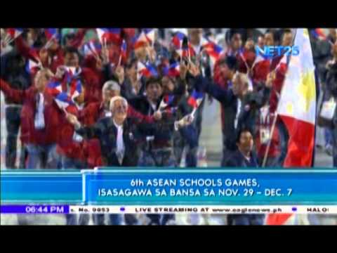 Philippines will host 6th ASEAN School Games