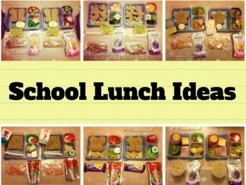 6 HEALTHY SCHOOL LUNCH IDEAS - Bento Box Inspired