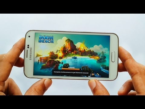 Boom Beach Gameplay Samsung Galaxy S5 Android HD