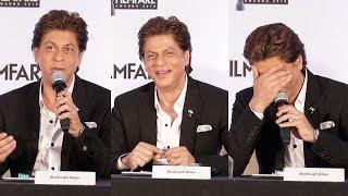 Shahrukh Khan's FUNNY MOMENTS At Filmfare Awards 2017 Press Conference