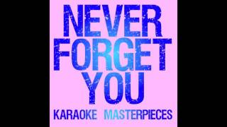 Never Forget You Originally By Zara Larsson Mnek Instrumental Karaoke