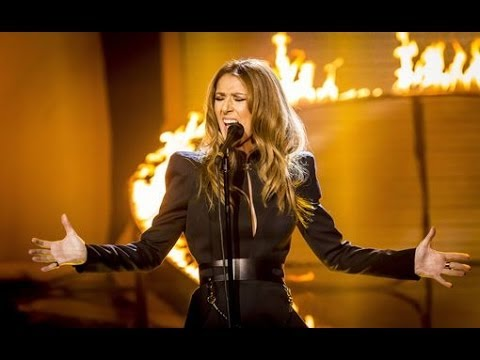 Celine Dion-Rolling In The Deep(Adel) Live in Washington 2014