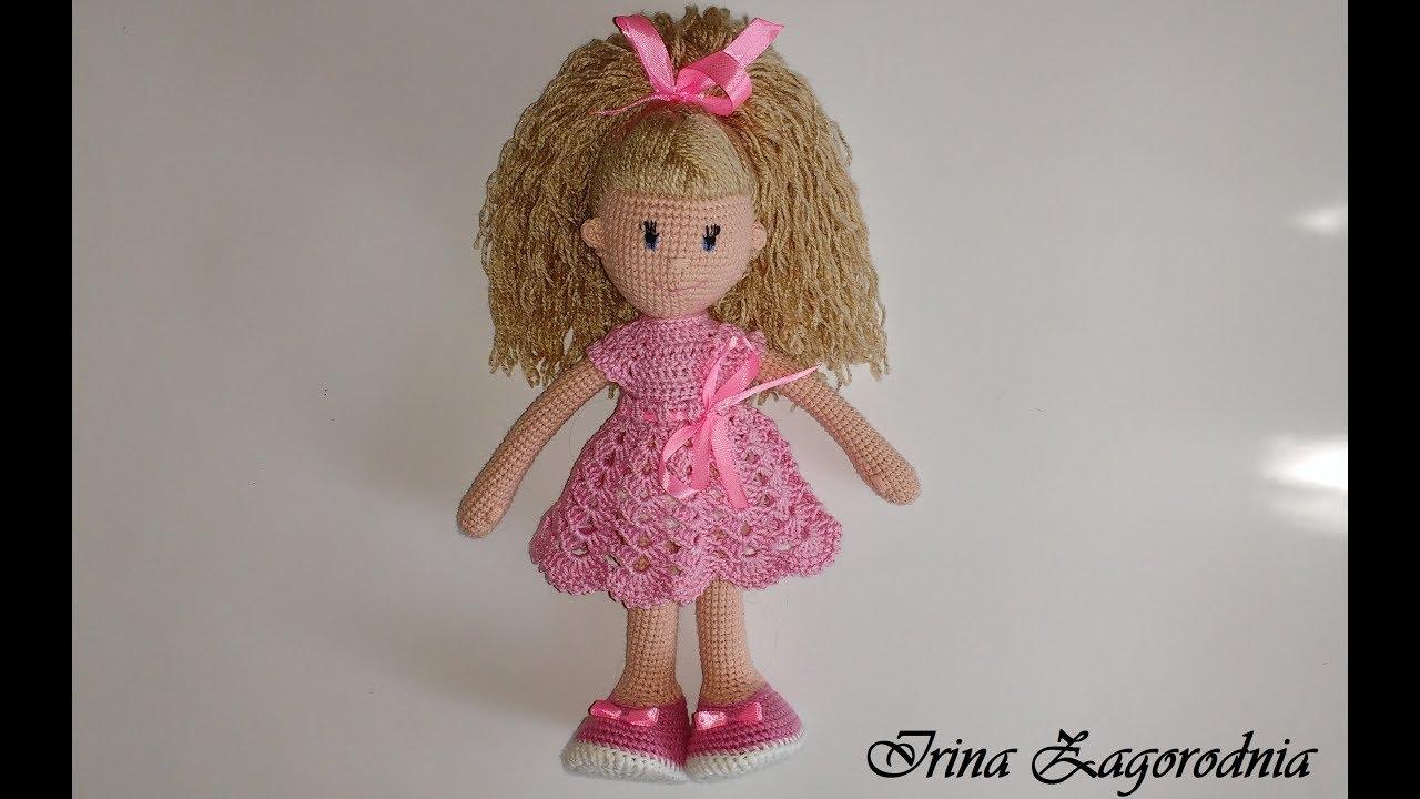 Видеоурок вязания крючком кукол 48