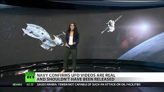 US Navy admits leaked UFO videos are real