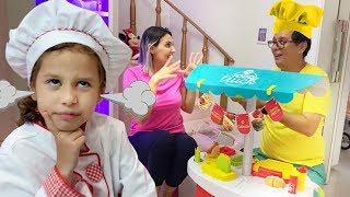 Histórias engraçadas com brinquedos 02 | Vídeo de compilação com Valentina Toys Show