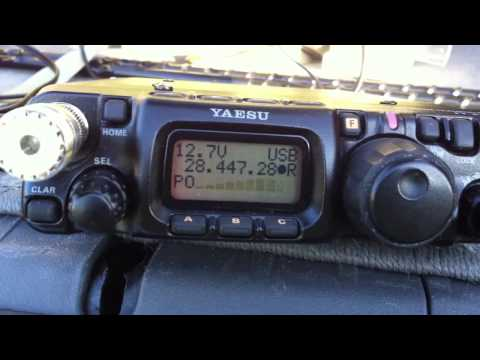 Columbia with 5 watts QRP and YP-3 yagi portable.