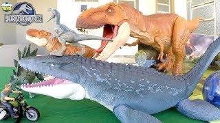 Dinossauro Mosassauro de Brinquedo - Coleção Jurassic World 2