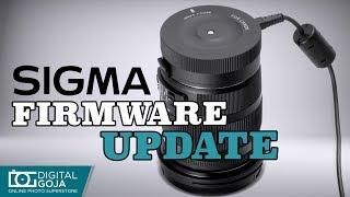Sigma USB Dock Lens Firmware update | TUTORIAL