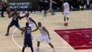 Jeff Green Rises Up and Throws Down on Kyle Korver