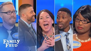 TOP 5 MOMENTS FROM OCTOBER 2017! | Family Feud