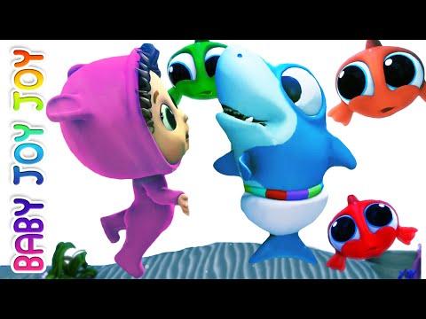 Baby Shark   Helping Friends   Nursery Rhymes