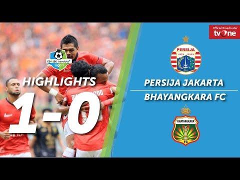 Persija Jakarta vs Bhayangkara FC: 1-0 All Goals & Highlight