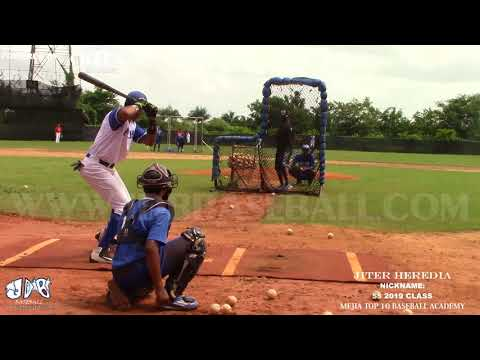 Jiter Heredia SS 2019 Class from (Mejia top 10 Baseball Academy)Date video: 06.09.2017