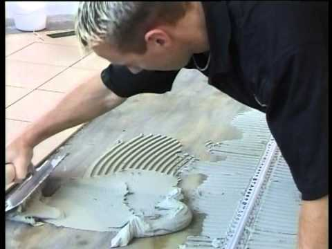 How to Tile & Grout Part 4: How to use Tile Trims & Expasion Movement Strips & Finishing Edges.