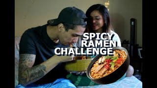 Dogie Ramen Challenge - Spicy Ramen Noodles