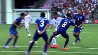 Sithu aung player vs Cambodia u23 2015 Southeast Asian Games HD