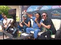 Stryker talks with FIDLAR at the KROQ Coachella House