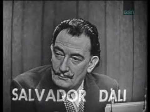 "Salvador Dali on ""What's My Line?"""