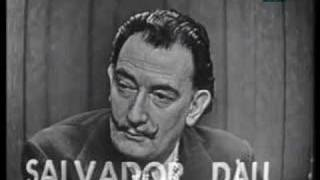 Thumb Salvador Dalí en un programa de adivinar quien es el invitado