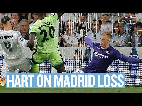 HART REACTS IN MADRID | Real Madrid v Manchester City