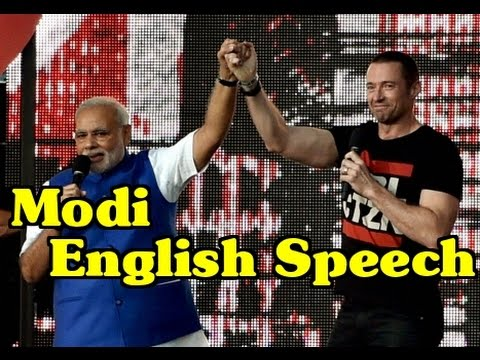 Pm Modi Speech In English At Central Park: May The Force Be With You video