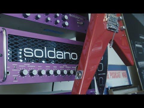 Art Zone: Mike Soldano Helps Amp Up Biggest Guitarists In Music
