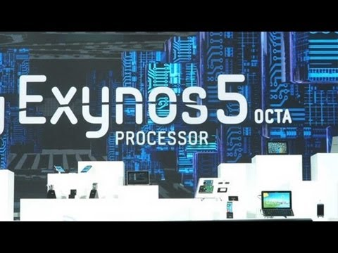 Samsung Exynos 5410 Benchmark - Octa-Core Reference Design Demo