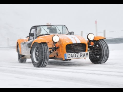 evo Diaries- Caterham Supersport snow driving