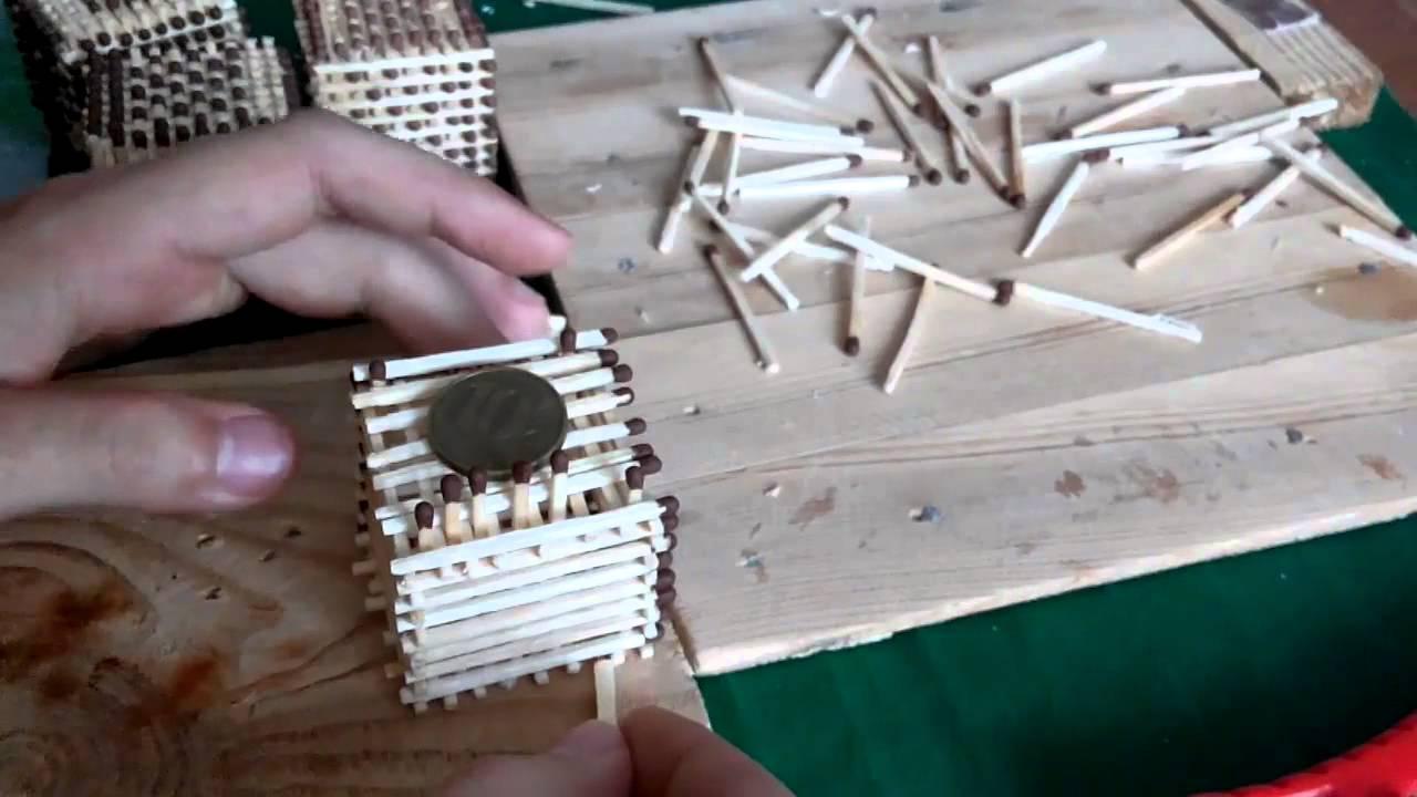 Как сделать кубик из спичек для начинающих