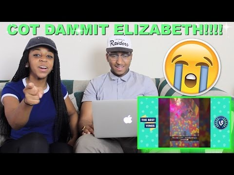 Couple Reacts : Cot Dammit Elizabeth! When Your Girlfriend Is Drunk Full Compilation Reaction!!!