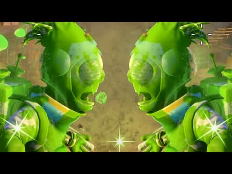 Plants vs. Zombies: Garden Warfare - Plants react to friendly Zombies