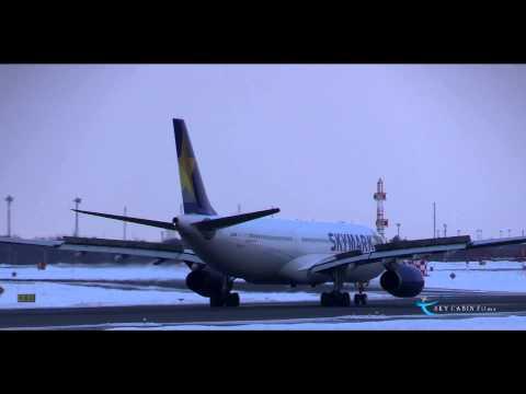 """""""希少なのか!?雪景色とスカイマークA330!!"""" Skymark Airlines(SKY) Airbus A330-300 JA330E"""