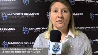 Coach Pelzel talks team's win streak