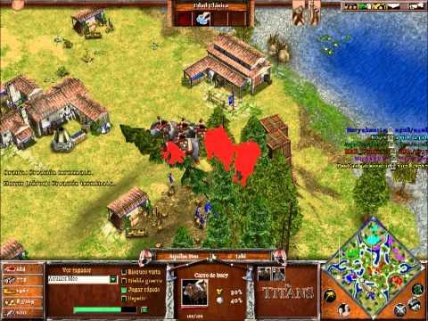 Age Of Mythology 3 vs 3 Online