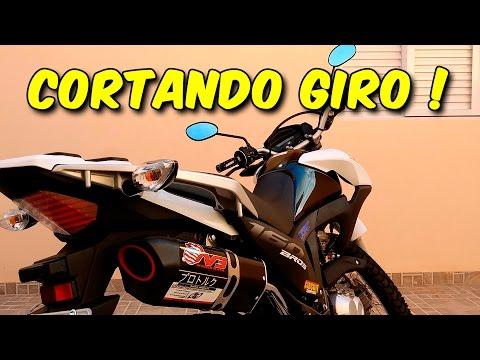 Honda Bros 160 Cortando Giro !