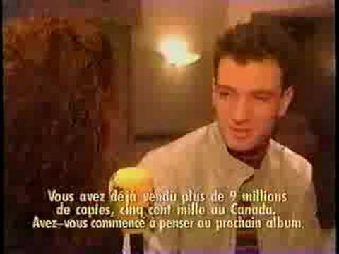 <b>JC Chasez</b> on Flash in 2000