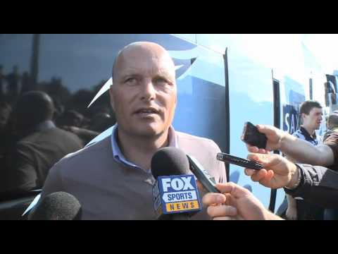 Bjarne Riis talks about the Contador crash with Karpets