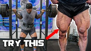 How to get a huge squat and BIG legs (Top exercises for squats)