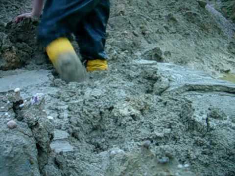 wellies in deep mud 1