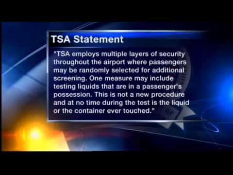 TSA screening liquid in use for 5 years