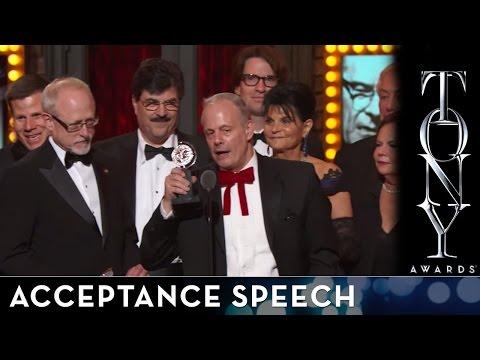 2014 Tony Awards: Acceptance Speech - All The Way
