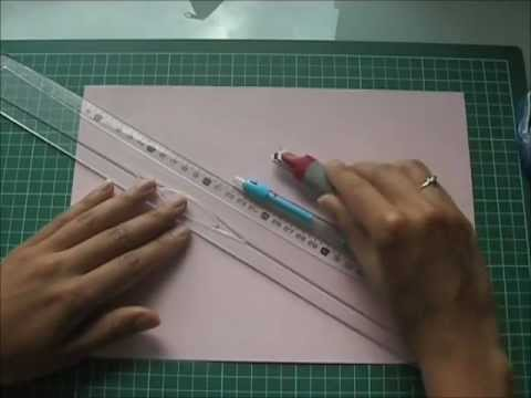 tutoriel vid o de la pochette en papier youtube. Black Bedroom Furniture Sets. Home Design Ideas