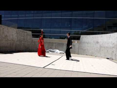 American Foxtrot Ballroom Dance Show at Utah Arts Festival