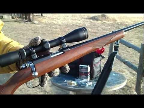 Ruger 77/22 Magnum (Range Report 1)