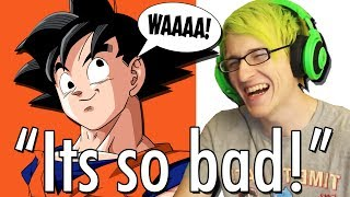 REACTING TO REALLY BAD VOICE ACTING ? | Hilariously bad voice acting in games and anime