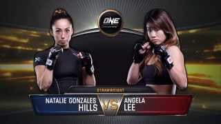 FULL FIGHT: Angela Lee vs Natalie Hills