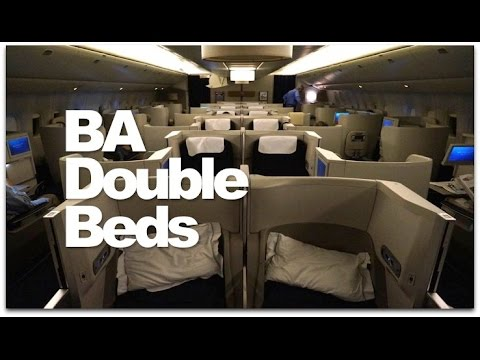 Business Class British Airways Flight | BA Club World Double Bed Reviewed